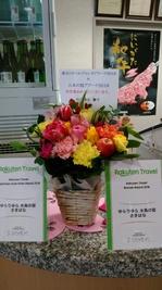 竹中さんからお花.JPG
